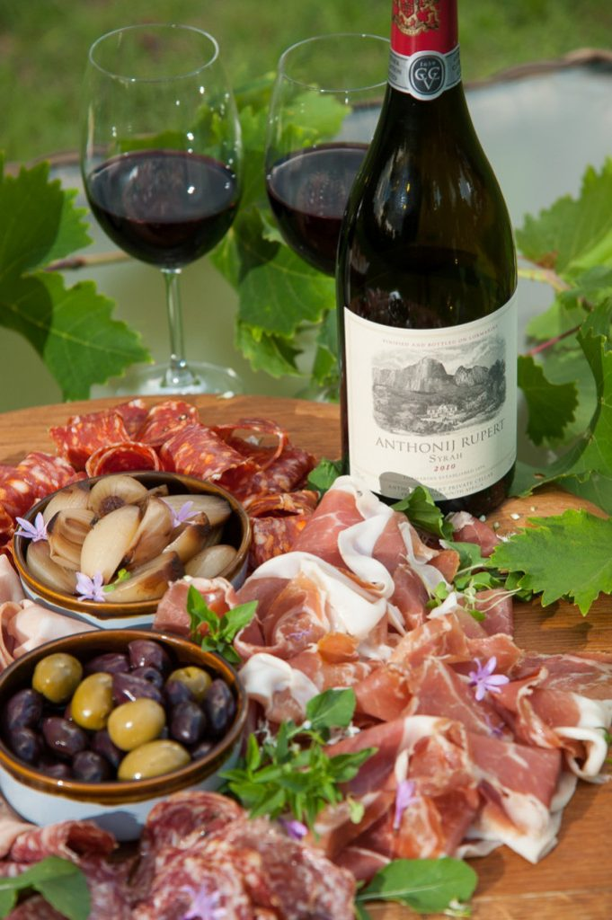 What a spread! Shiraz & Charcuterie, Anthonij Rupert Wyne, Franschhoek, 28th May 12pm-5pm. Photo courtesy of On the Marque PR