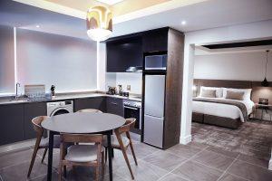 1,2 & 3 bedroom apartments - kitchen 2