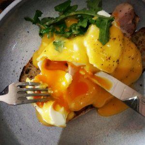 Perfect Eggs Benedict The Bakery @ Jordan